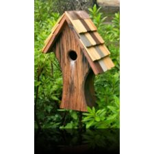 Nottingham Birdhouse with Shingled Roof
