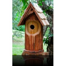 The Woodcutter Birdhouse with Shingled Roof