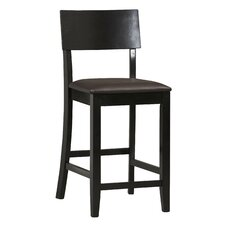 "Torino 24"" Bar Stool with Cushion"