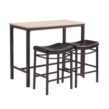 Betty 3 Piece Pub Table Set