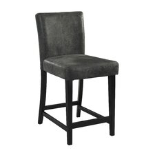 "Morocco 24"" Bar Stool with Cushion"
