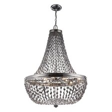 Malia 9 Light Crystal Chandelier