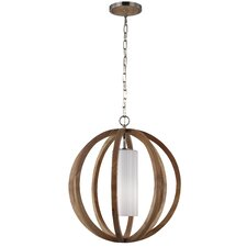 Allier 1 Light Globe Pendant