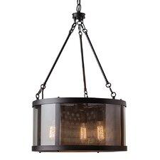 Bluffton 3 Light Drum Chandelier