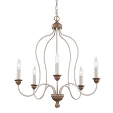 Hartsville 5 Light Candle Chandelier