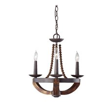 Adan 3 Light Chandelier