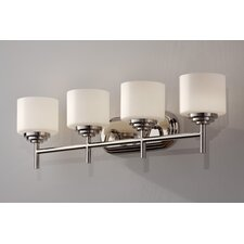Malibu 4 Light Bath Vanity Light