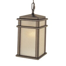 Mission Lodge 1 Light Outdoor Hanging Lantern