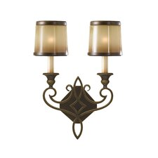 Justine 2 Light Wall Sconce