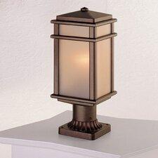 Mission Lodge 1 Light Post Lantern