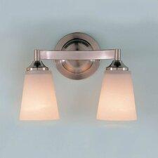 Paris Moderne 2 Light Vanity Light