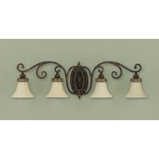 Cervantes 4 Light Vanity Light