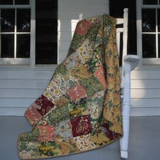 Antique Chic Cotton Throw Blanket