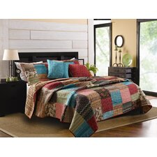 New Bohemian Quilt/Coverlet Set