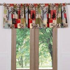 "Rustic Lodge Window 84"" Curtain Valance"