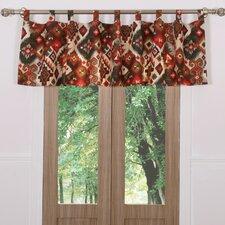 "Folk Festival Rustic Window 84"" Curtain Valance"