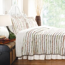 Bella Ruffle Coverlet Set