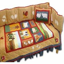 Barnyard 9 Piece Crib Bedding Set