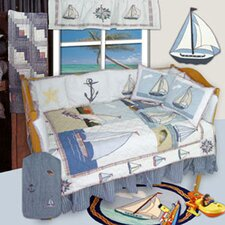 Nautical 9 Piece Crib Bedding Set