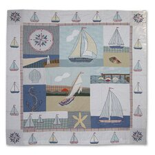 Nautical Cotton Shower Curtain