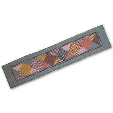 Harvest Log Cabin Table Runner