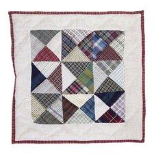 Kaleidoscope Cotton Throw Pillow