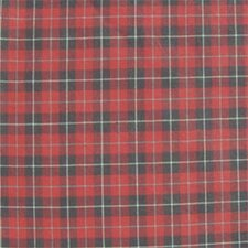 Red and Black Plaid White Lines Napkin (Set of 16)