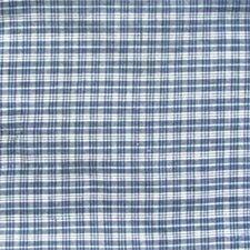 "Blue and White Plaid 54"" Curtain Valance"