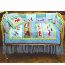 Junior Travel 9 Piece Crib Bedding Set