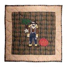 Four Seasons Fall Cotton Throw Pillow
