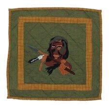 Indian Dancers Indian Cotton Throw Pillow
