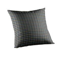 Plaid Cotton Throw Pillow
