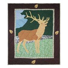 Elk Cotton Crib Quilt