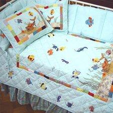 Kids Aquarium 9 Piece Crib Bedding Set