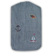 Nautical Cotton Diaper Stacker