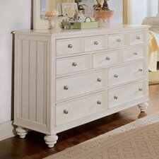 Camden 11 Drawer Dresser with Mirror