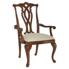 Cherry Grove Pierced Back Arm Chair (Set of 2)