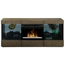 Axel Media Console Electric Fireplace