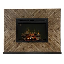 Harris Media Console Electric Fireplace