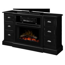Gibbon's Media Console Electric Fireplace