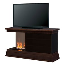 Debenham Media Console Electric Fireplace (Logs)