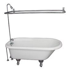 "29.5"" x 67"" Soaking Bathtub Kit"