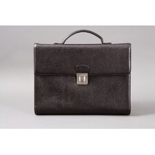 Dale Compact Leather Laptop Briefcase