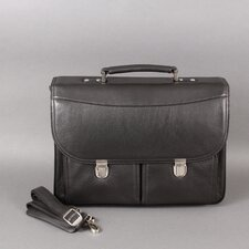 Larry Leather Laptop Briefcase