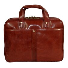 Kevin Leather Laptop Briefcase