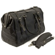 "Chaucer 18.5"" Leather Weekender Duffel"