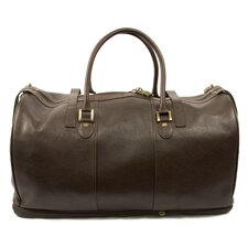 "Blake 22"" Leather Carry-On Duffel"