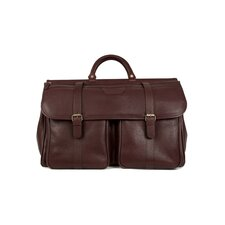 "Lorenzo 19.5"" Leather Carry-On Duffel"