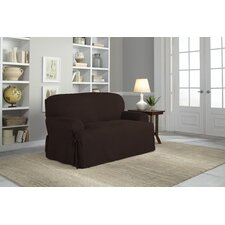 Loveseat T-Cushion Slipcover