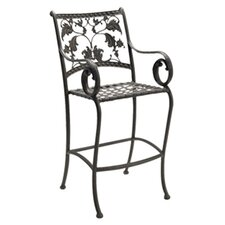 """Old Gate 34.6"""" Bar Stool with Cushion"""